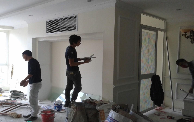 dịch vụ thợ sơn nhà tại quận 10