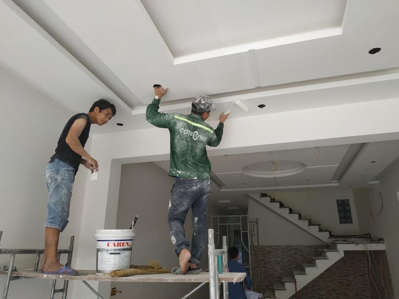 dịch vụ thợ sơn nhà tại Quận 9